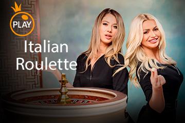 Игровой автомат Live - Italian Roulette